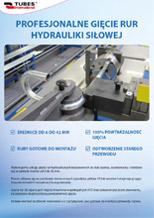 Profesjonalne gięcie rur hydraulicznych 3D