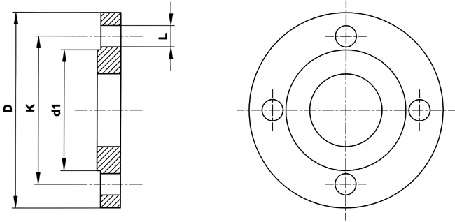 Flange connection sizes PN and ASA - Tubes International