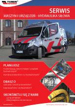 Serwis maszyn i urządzeń - hydraulika siłowa
